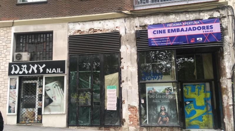 Los Cines Embajadores abrirán muy pronto sus puertas