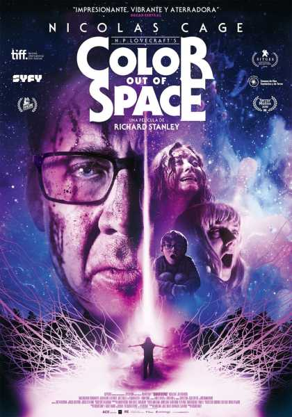 "Pósters de la película ""Color Out of Space"""