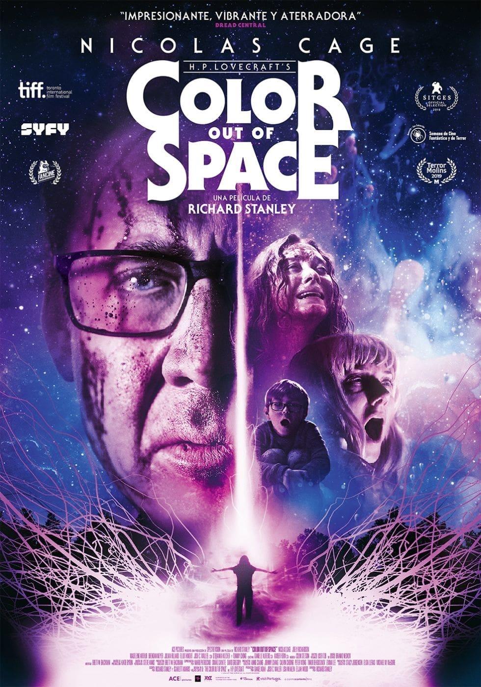 """Pósters de la película """"Color Out of Space"""""""