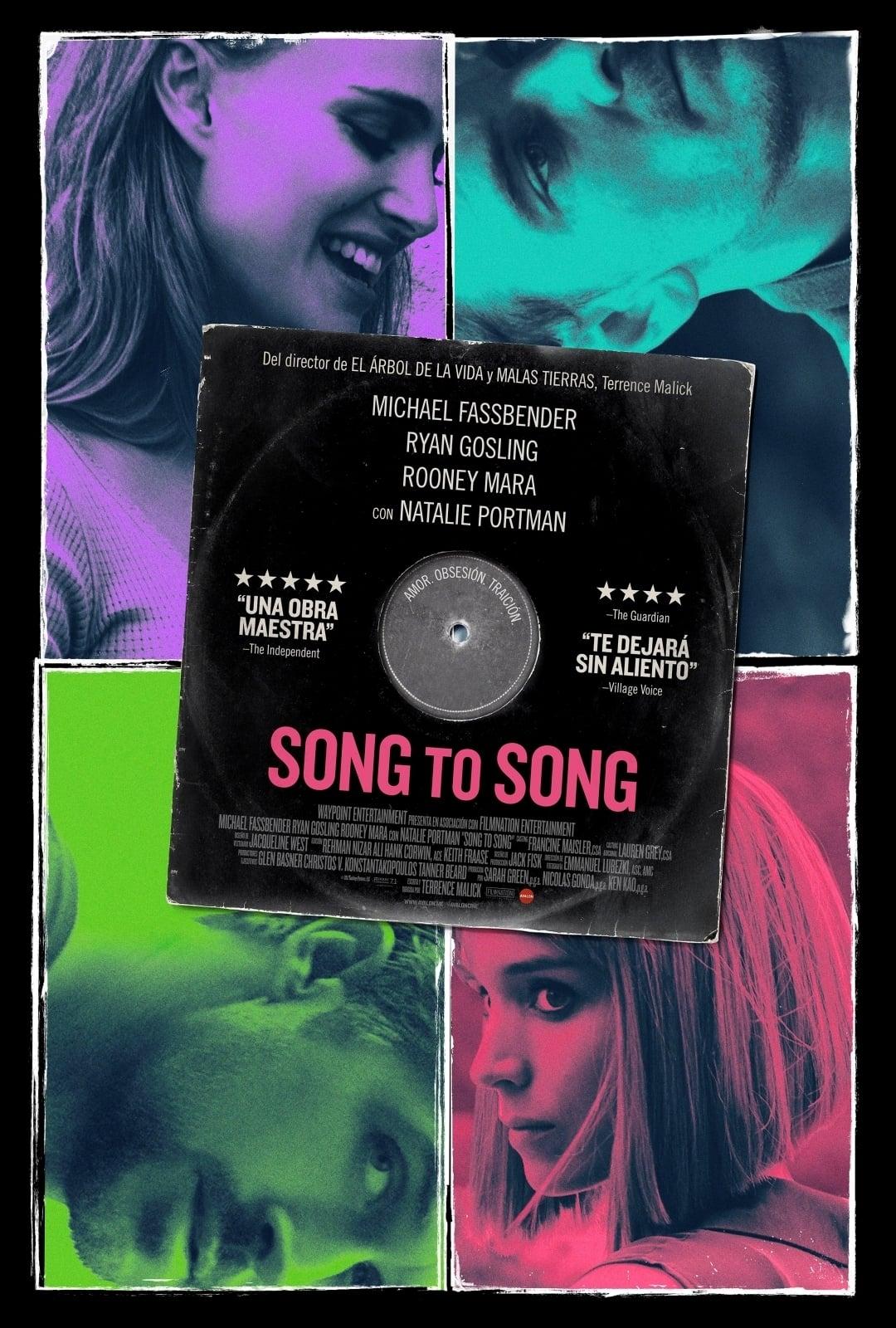 """Pósters de la película """"Song to Song"""""""