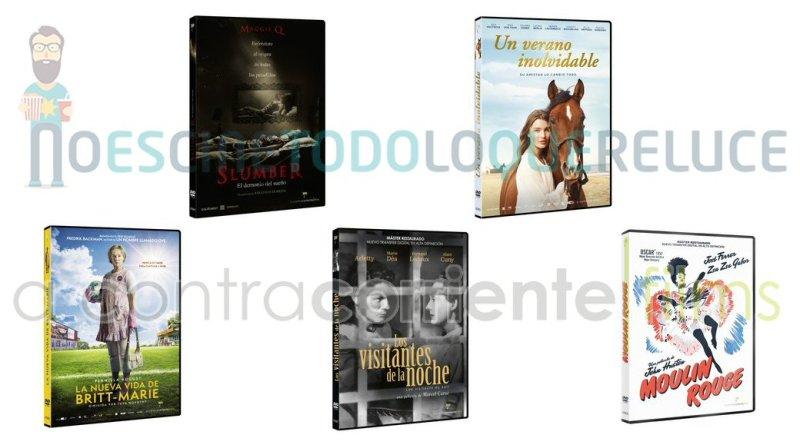 Lanzamientos de octubre en DVD y Blu-ray de A Contracorriente Films