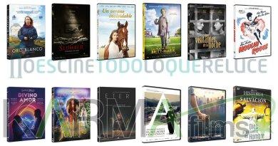 Lanzamientos de octubre en DVD y Blu-ray de Karma Films