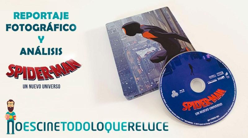 Spiderman: Un Nuevo Universo (BD) (Ed. Especial Metal)