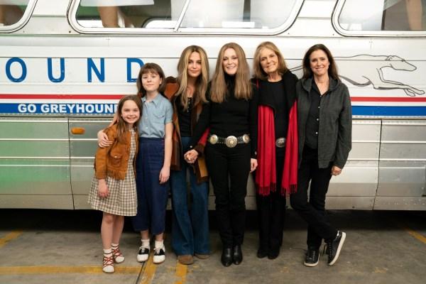 The Glorias: Tráiler del biopic con Julianne Moore y Alicia Vikander