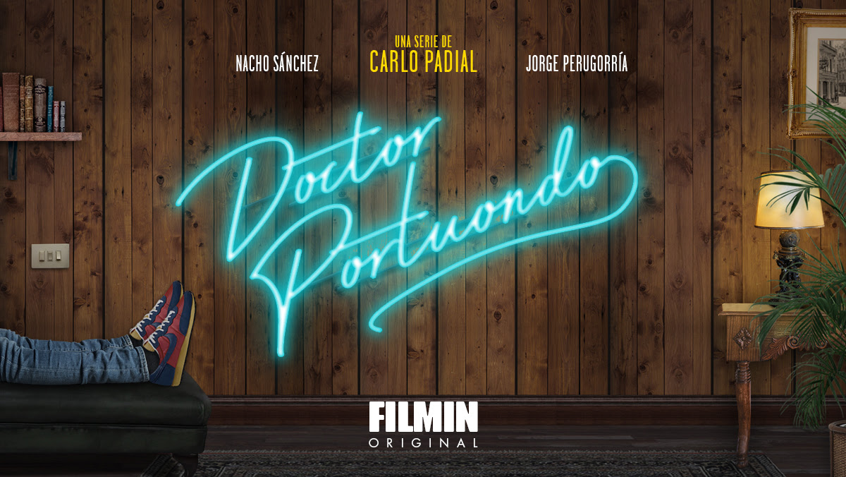 Cartel promocional de la serie de Filmin 'Doctor Portuondo'.