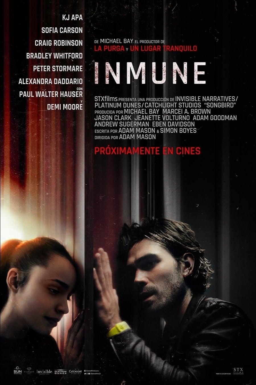 """Pósters de la película """"Inmune"""""""