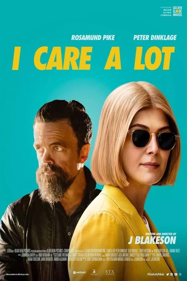 """Pósters de la película """"I Care a Lot"""""""