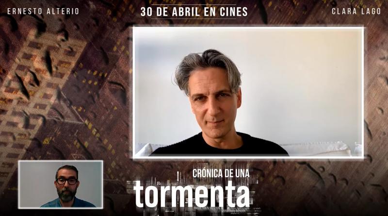 Entrevista a Ernesto Alterio, protagonista de 'Crónica de una tormenta'