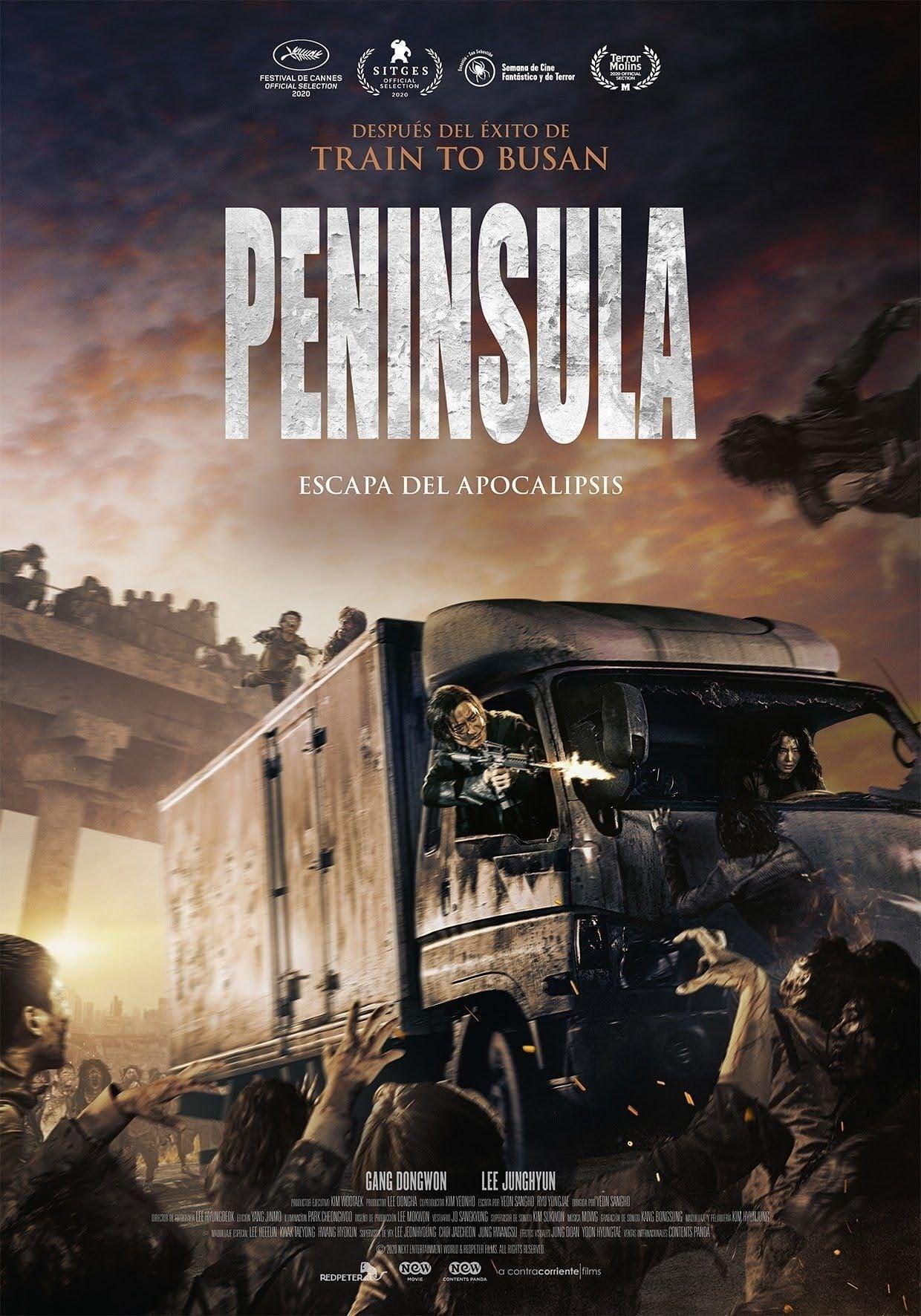 """Pósters de la película """"Península"""""""