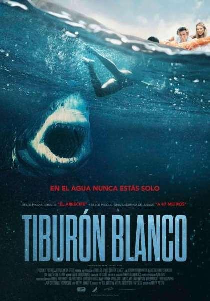 """Pósters de la película """"Tiburón blanco"""""""