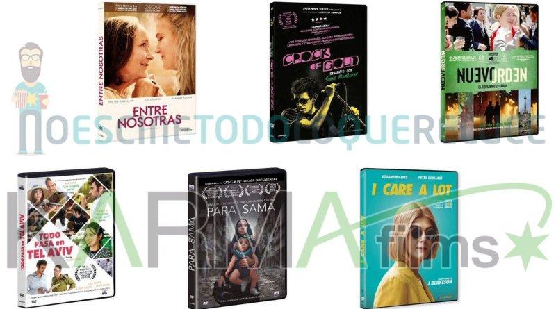 Lanzamientos de junio en DVD y Blu-ray de Karma Films