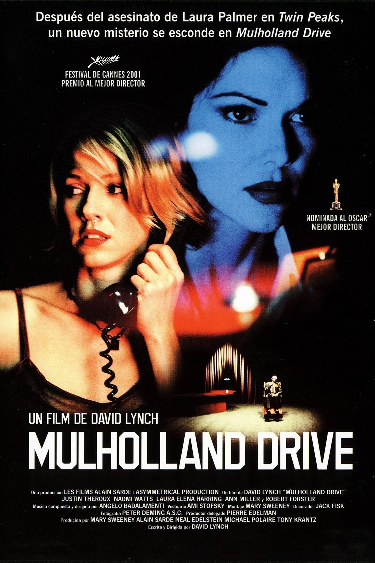 "Pósters de la película ""Mulholland Drive"""