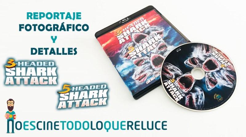 3-Headed Shark Attack + 5-Headed Shark Attack