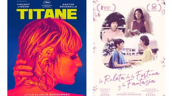 Titane y La ruleta de la fortuna y la fantasía en Perlak del Festival de San Sebastián