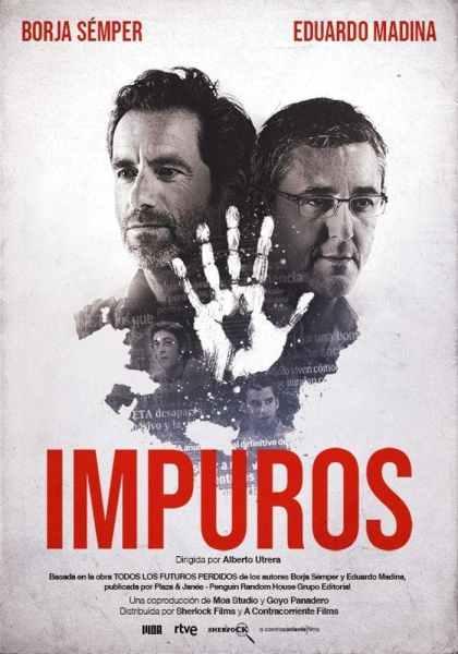 """Pósters de la película """"Impuros"""""""