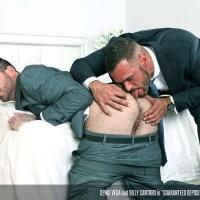 Denis Vega le mete a Billy Santoro un depósito de garantía por el culo | Men At Play