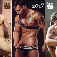 TOP 20 Actores Porno Gay 2017