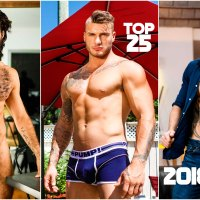 TOP 25 Actores Porno Gay 2018