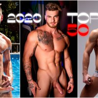 TOP 50 Actores Porno Gay 2020