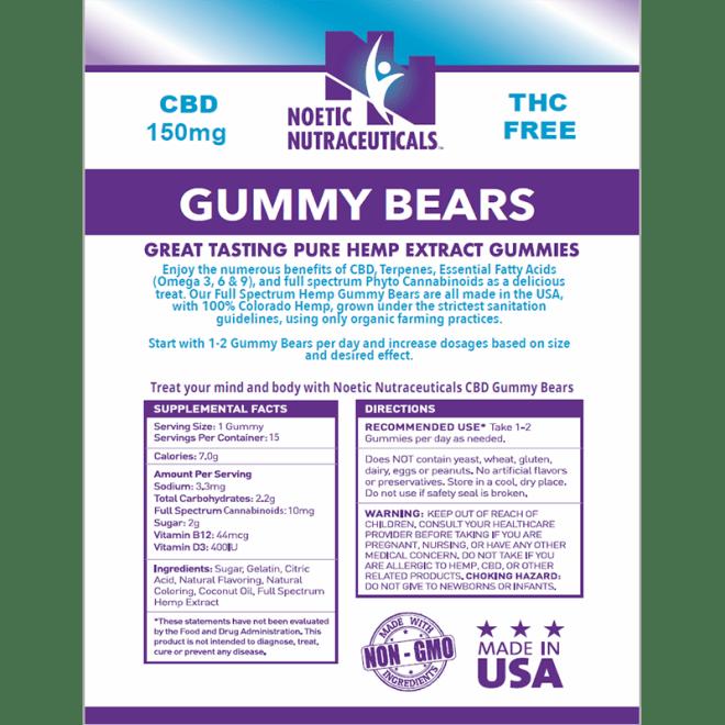 Gummy Bears 150 mg