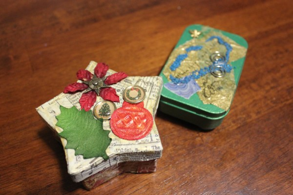 altered gift boxes