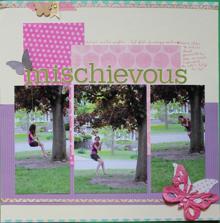 mischievous || noexcusescrapbooking.com
