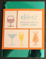 happy hour card || jen wright designs template || noexcusescrapbooking.com