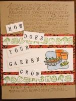 how does your garden grow || noexcusescrapbooking.com