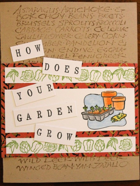 how does your garden grow || noexcusescrapbooking.com