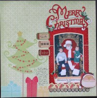 Merry Christmas ||noexcusescrapbooking.com
