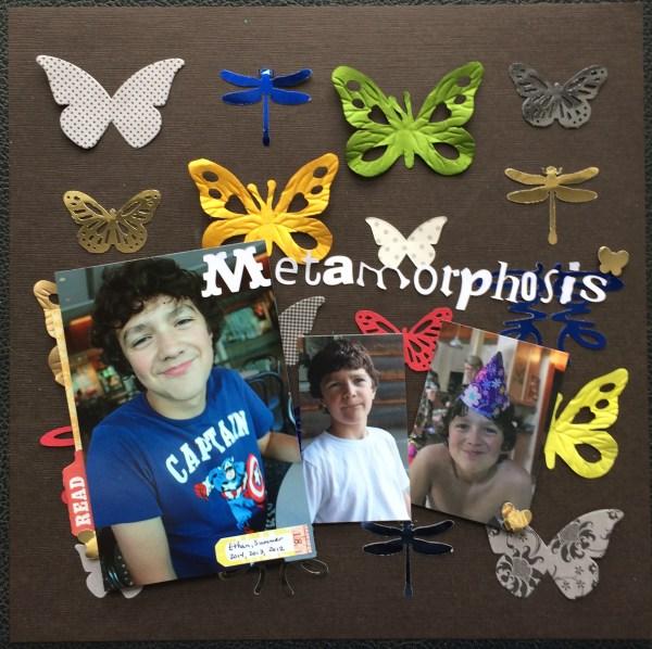 metamorphosis || noexcusescrapbooking.com