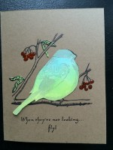 bird resist || noexcusescrapbooking.com