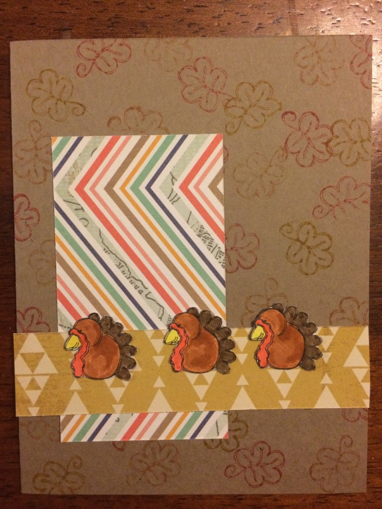 happy turkey || noexcusescrapbooking.com