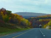 The road reveals itself little by little