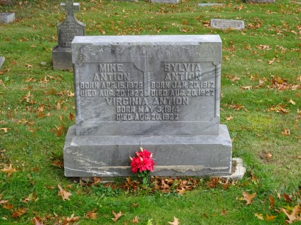 A grandfather and two aunts I never knew. they died when my father was only 4 years old.