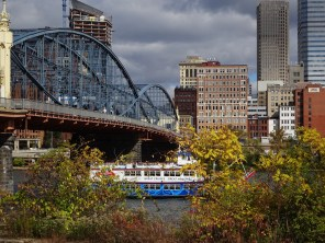 Pittsburgh and my old employer (Gateway Clipper Fleet)