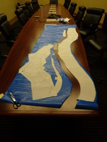 The Allegheny and Ohio are cut as one piece.