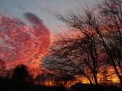 I love this sunset.
