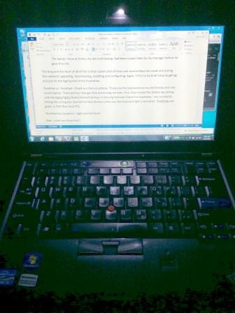 ThinkPad LED On