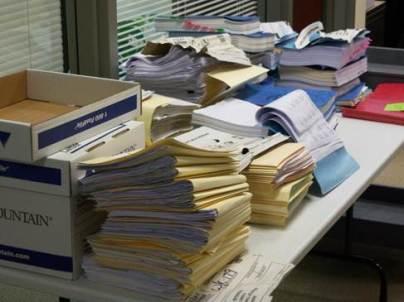 Wet documents
