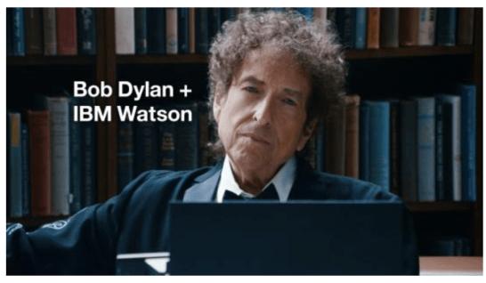 Watson sings with Bob Dylan