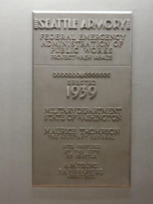 Armory plaque