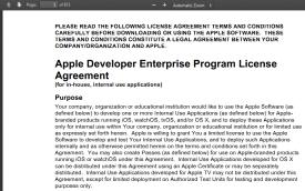 Enterprise agreement