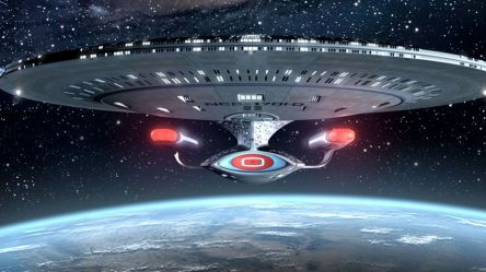 The Enterprise-D from Star Trek Next Generation - Wikipedia