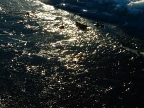 Across the ice