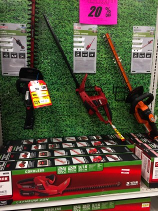 If these were 80% off, I wouldn't buy them. Sears doesn't have replacement batteries for my cordless string trimmer.