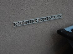 On Theater Works - I like this simple little sign.