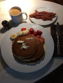 Pancakes require butter. No substitute concoctions allowed, butter.