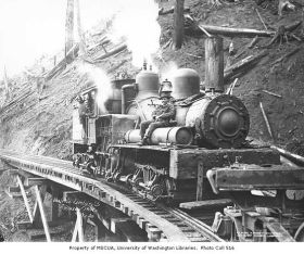 How the railroad was built