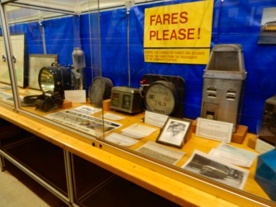 The museum has a large collection of trolley artifacts.